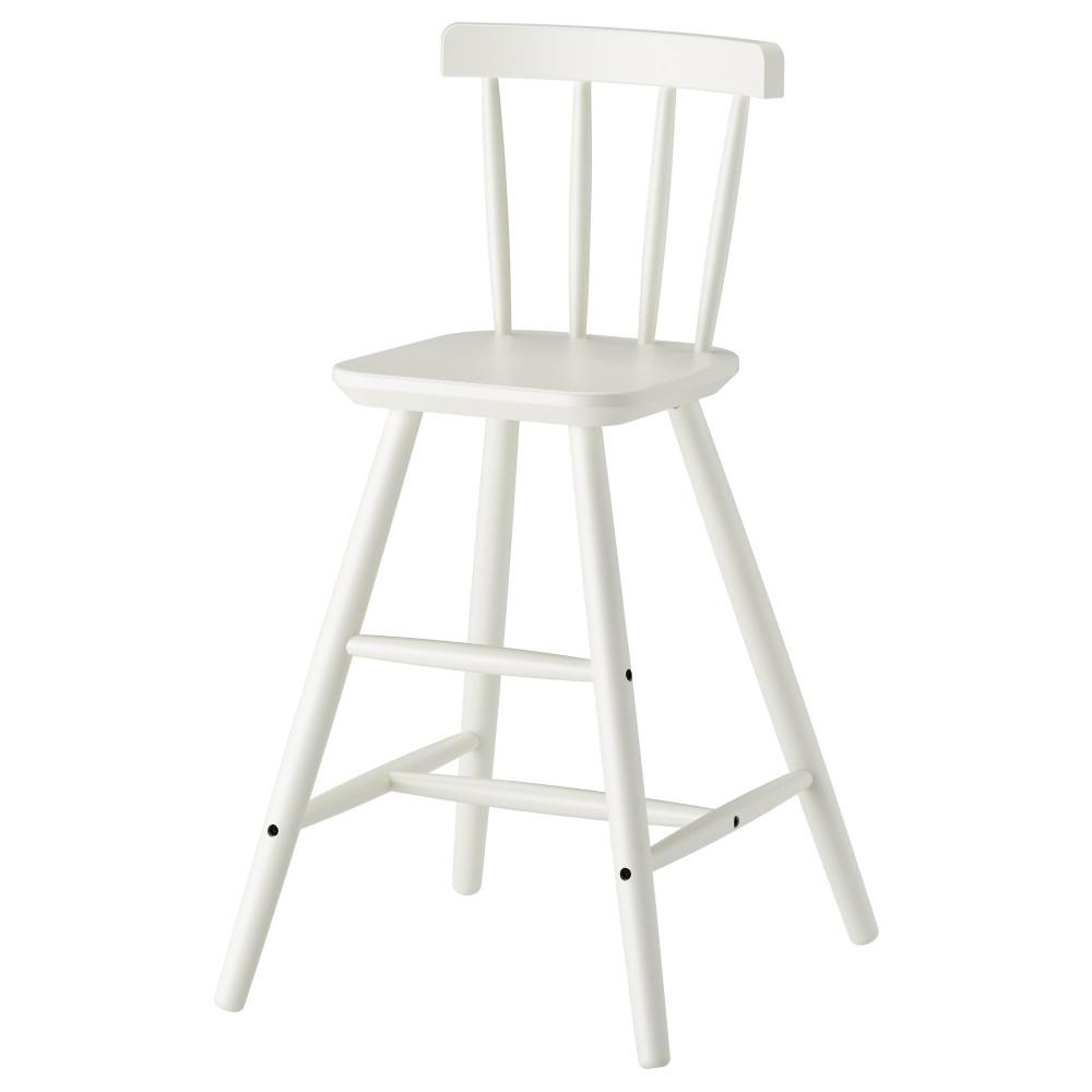 Детский стул АГАМ белый  фото 1