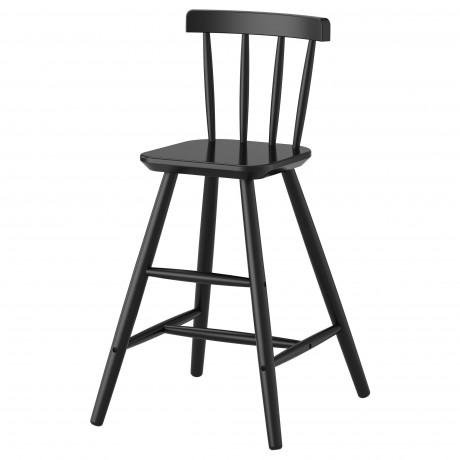 Детский стул АГАМ черный фото 0