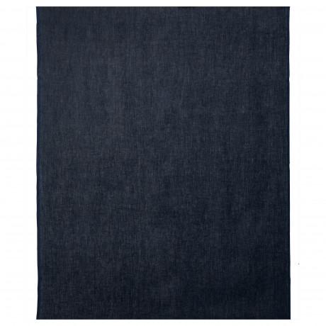 Ткань АЙНА темно-синий фото 3