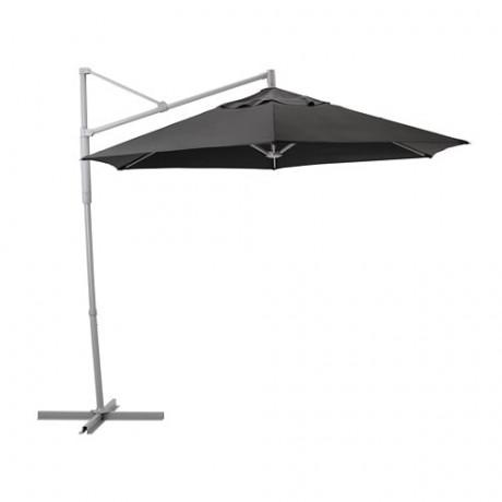 Зонт от солнца, подвесной ОКСНЭ / ЛИНДЭЙА черный фото 0