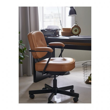 Рабочий стул АЛЕФЬЕЛЛЬ Гранн золотисто-коричневый фото 1